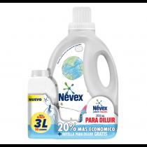Jabón Líquido Nevex Concentrado para Diluir 500ML + Botella