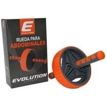 Rueda de Abdominales Evolution Plus Reforzada Naranja