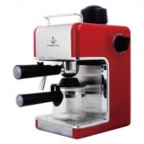 Cafetera Eléctrica Express Punktal PK-C103 2 - 4 Tazas Roja