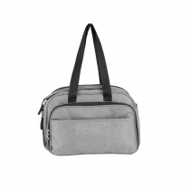 Bolso Maternal Cambiador Infanti Baby Bed Gris