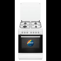 Cocina Enxuta CENX5642W Supergas 4 Hornallas Blanca