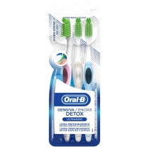 Cepillo Dental Oral-B Detox Ultrafino x3