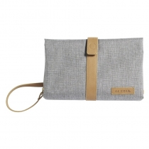 Cambiador JJ Cole Light Heather Gray