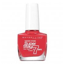 Esmalte Maybelline Efecto Gel Super Stay 7 Days Cherry Sin 10ML