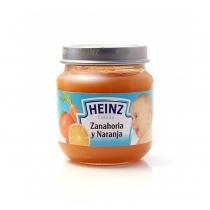 Colado de Zanahoria y Naranja Heinz 113 Grs