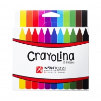 Crayolina Infantozzi Triangular Luminosa 12 Colores