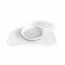 Plancha Click Mat + Plato Twistshake +6m Blanco