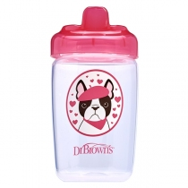 Vaso Dr.Browns Boca Ancha 12OZ Transición Perrito 350ml