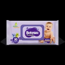Toallitas Húmedas BabySec Premium x50