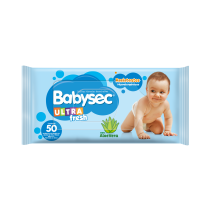Toallitas Húmedas Babysec Ultra x50