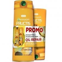 Shampoo Fructis Liso 350ML + Acondicionador 200ML