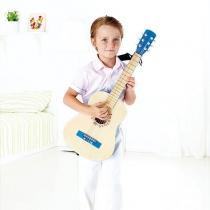 Guitarra de Madera Hape Azul