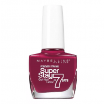 Esmalte Maybelline Efecto Gel Super Stay 7 Days Play Hard Red 10ML