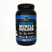 High Protein Gold Nutrition Muscle Builder 4lb Chocolate