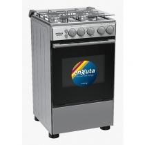Cocina Enxuta CENX9504I 4 Hornallas Acero Inoxidable