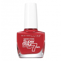 Esmalte Maybelline Efecto Gel Super Stay 7 Days Deep Red 10ML