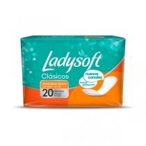 Protectores Diarios Ladysoft Clásico 20 unidades