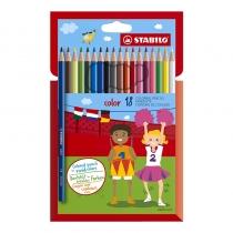 Lápices de Colores Stabilo Color x18