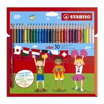Lápices de Colores Stabilo Color x30
