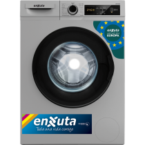Lavarropa Enxuta LENX765DS Automático Digital Silver