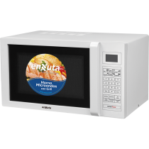 Microondas Enxuta MOENX0325DG 25LT Blanco con Grill