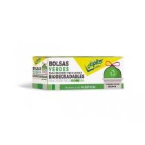 Bolsa Biodegradable Júpiter Verde 50x55 x10