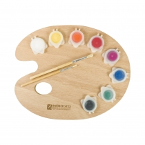 Kit Infantozzi Paleta Pintor + Témpera 8 Colores