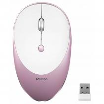 Mouse Inalámbrico Meetion R600 Pink