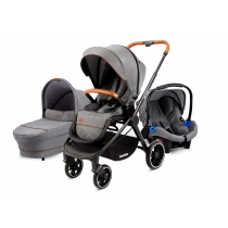 Coche Travel System Beverly V2 Gris