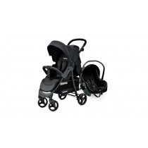 Coche Travel System Carestino City Negro