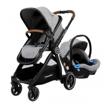 Coche Travel System Carestino Deluxe V2 Beige