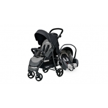 Coche Travel System Carestino City Gris Melange