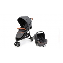 Coche Travel System Carestino Midway Negro