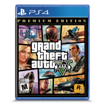 Juego Grand Theft Auto V Premium Edition PS4