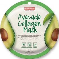 Máscara Facial Purederm Avocado Collagen