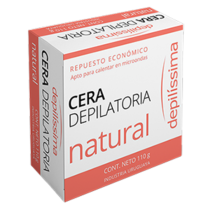 Cera Depilatoria Depilíssima Natural 110 G