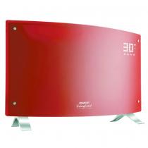Vitroconvector Digital Peabody PE-VQD20R Curvo 2000W Rojo