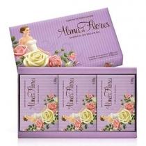 Pack Jabones Alma de Flores Vainilla x3