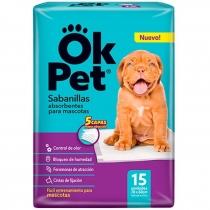 Sabanillas Absorbentes Ok Pet x15