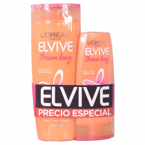 Shampoo Elvive Dream Long 400ML + Acondicionador 200ML