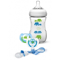 Set Elephant Avent para Regalo Varón 260ML