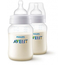 Mamadera Avent Classic +1 Mes 260ML x2