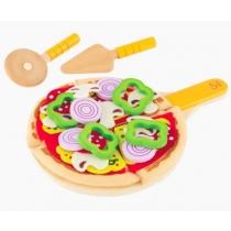 Set de Comida Pizza Hape de Madera