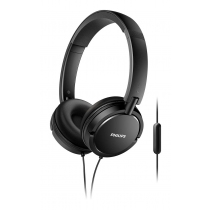 Auriculares Philips On Ear Estilo DJ Negros