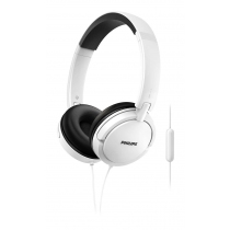 Auriculares Philips On Ear Estilo DJ Blancos