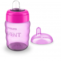 Vaso Avent Easy Sip Nena 260ML