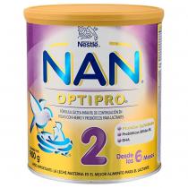 Fórmula Nan Optipro 2 400Gr