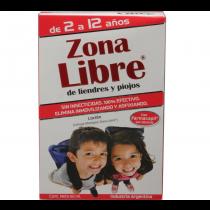 Piojicidas Zona Libre Loción y Shampoo