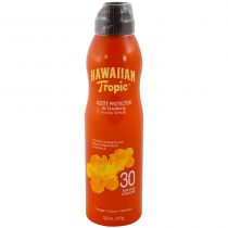 Aceite Hawaiian Tropic Zanahoria Spray FPS30 180ML