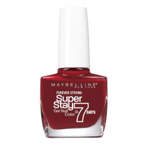 Esmalte Maybelline Efecto Gel Super Stay 7 Days Soho Red 10ML